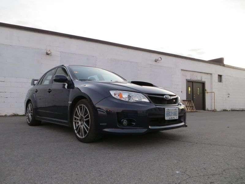 2013 Subaru Impreza WRX STI Quick Spin