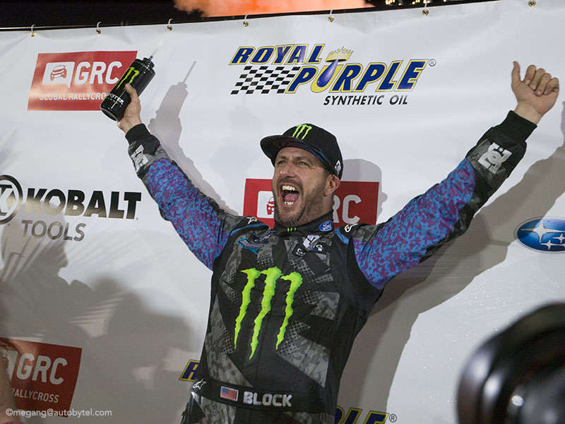 Ken Block Wins Final GRC Race, Heikkenen Crowned Champion