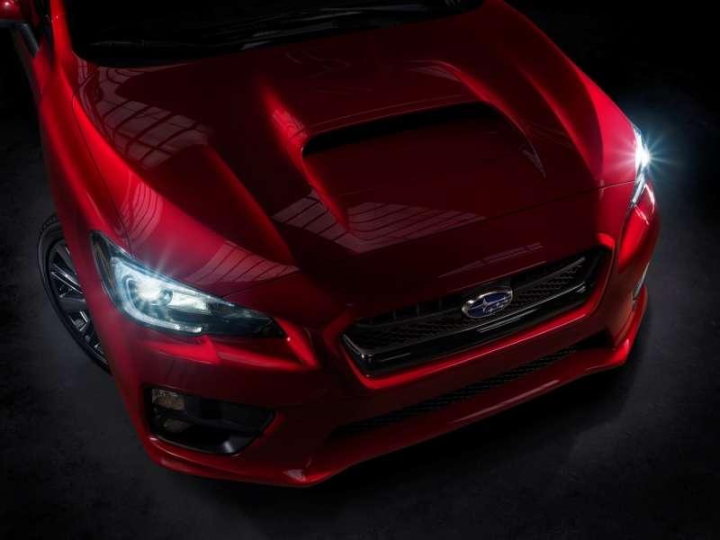 LA Auto Show: Subaru Previews 2015 WRX