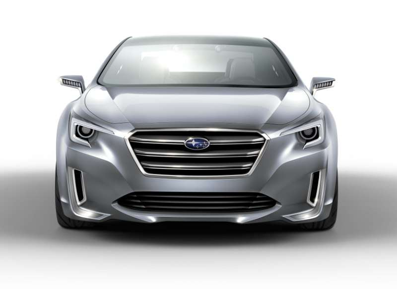 LA Auto Show: Subaru Reveals The Legacy Concept