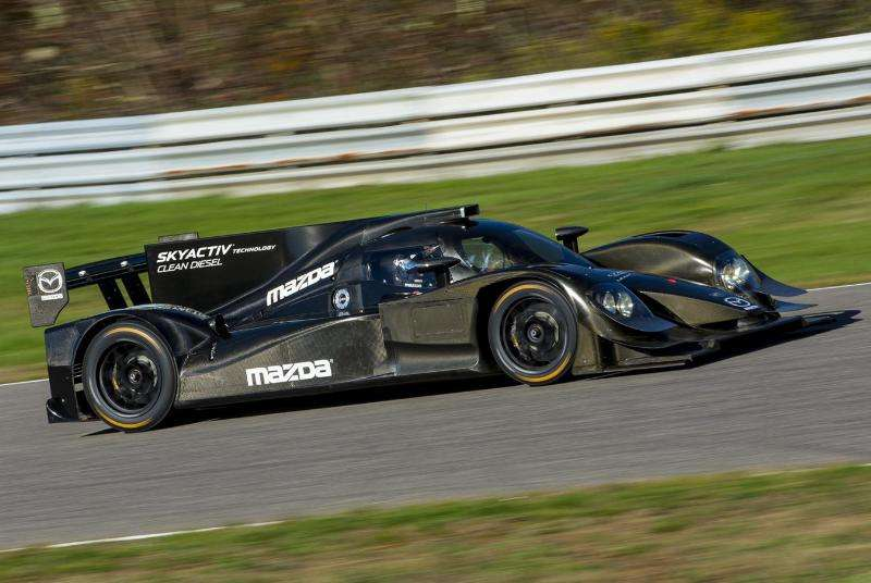 Mazda to Campaign Diesel Prototype for United SportsCar Championship