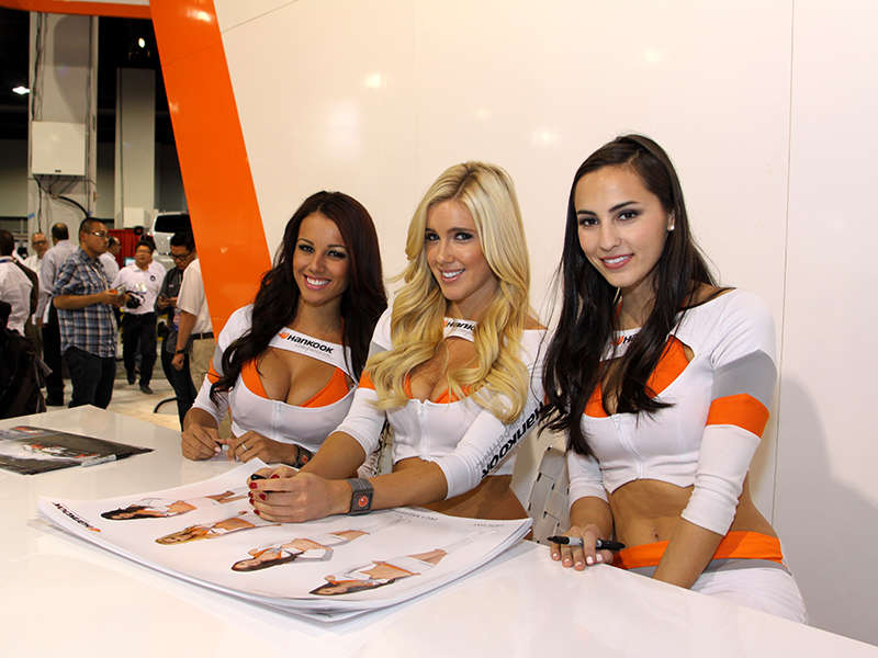 The Lovely Ladies of the 2013 SEMA Show