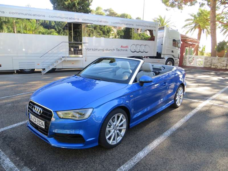 2015 Audi A3 Cabriolet First Drive