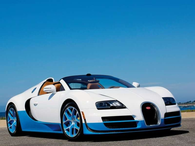 BUGATTI VEYRON SUPER SPORT VITESSE 16.4 - Sport Cars