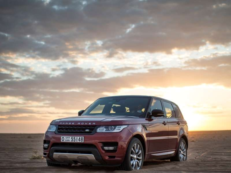 Range Rover Sport Sets Desert Crossing Record