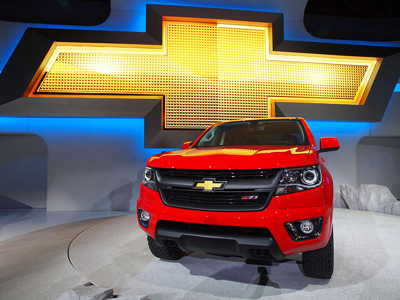 2015 Chevrolet Colorado Preview: 2013 Los Angeles Auto Show