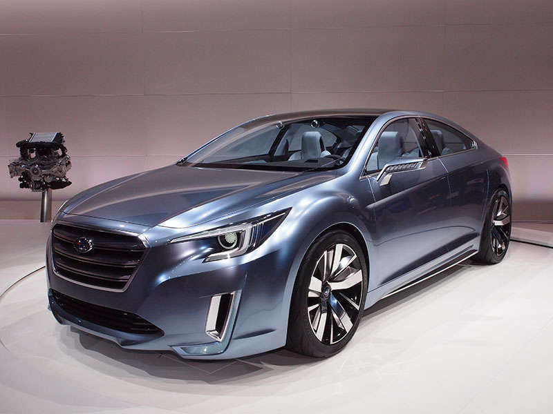 Subaru Legacy Concept Preview: 2013 Los Angeles Auto Show