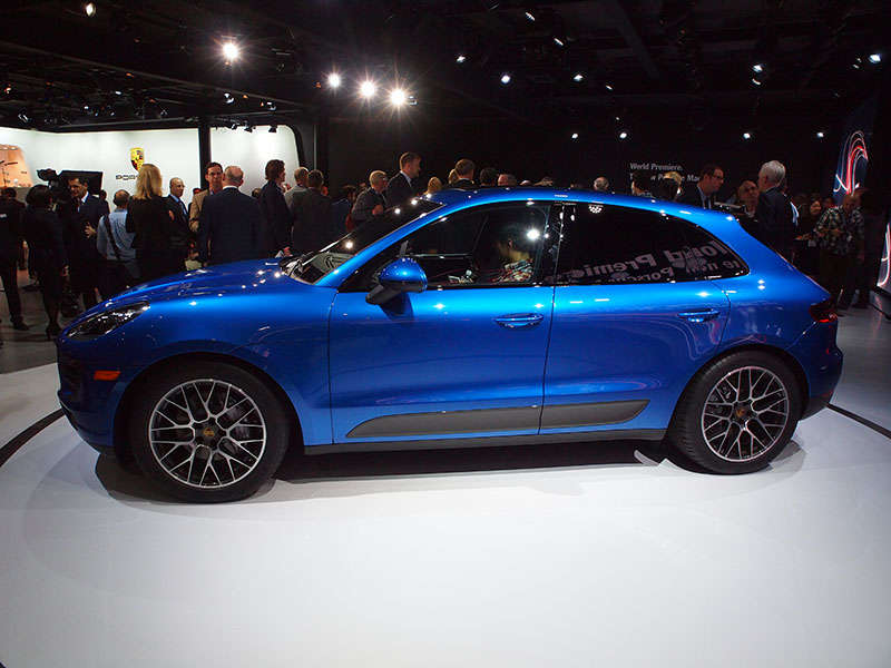 2015 Porsche Macan Preview: 2013 Los Angeles Auto Show