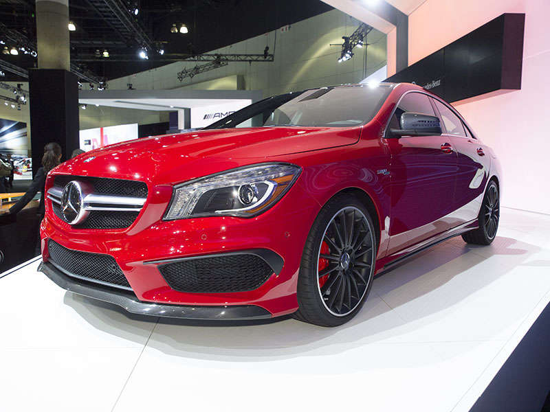 2015 Mercedes-Benz GLA45 AMG Preview: 2013 Los Angeles Auto Show