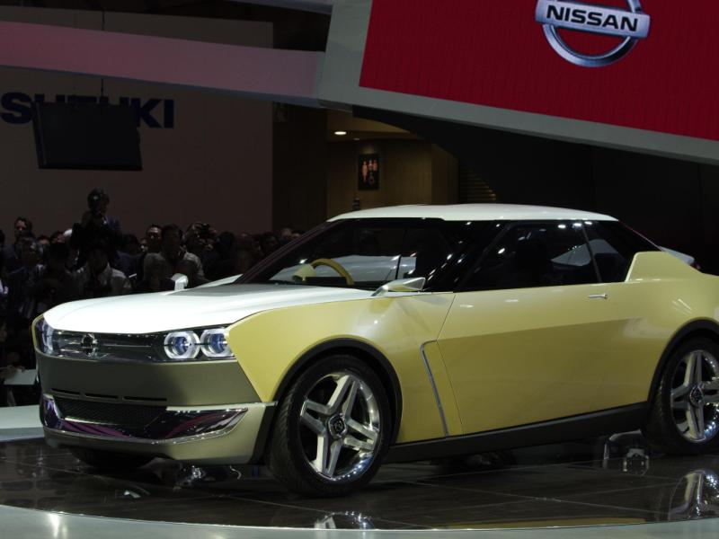 Tokyo Motor Show: Nissan Steals The Show With The IDx Freeflow