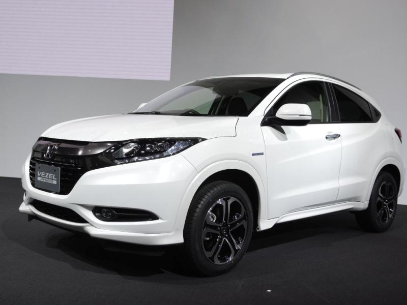Tokyo Motor Show: Honda Joins The Subcompact Crossover Craze With The Vezel