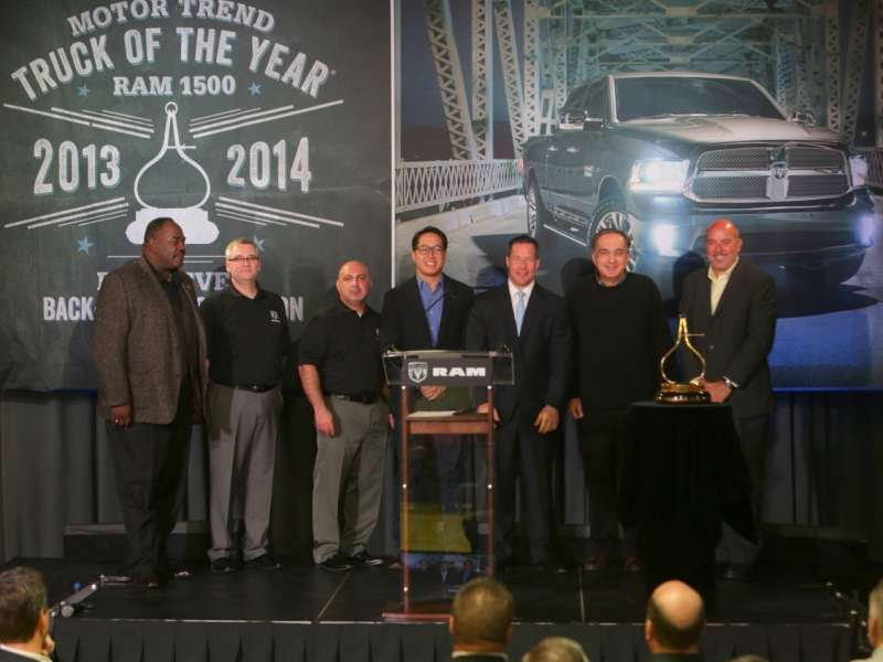 Ram Reign Continues: 2014 Ram 1500 Named MT Truck of the Year