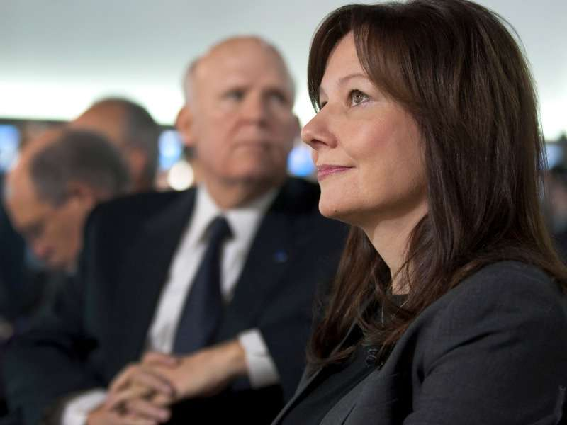 GM's Mary Barra to Become Auto Industry's First Female CEO
