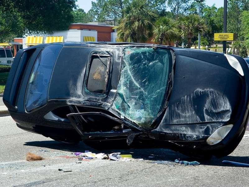 Car Accident Albuquerque I Today Rollover