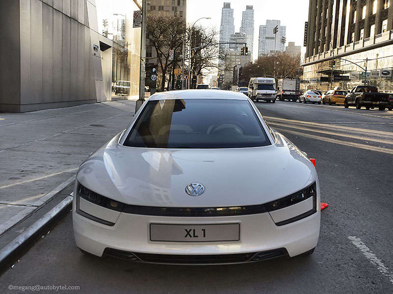 Volkswagen XL1 Drive NYC in Photos