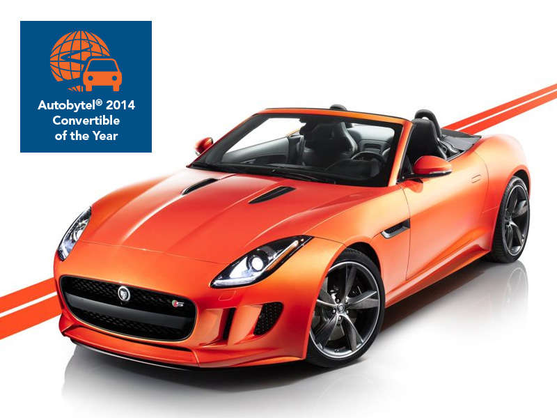 Autobytel 2014 Convertible of the Year: Jaguar F-Type
