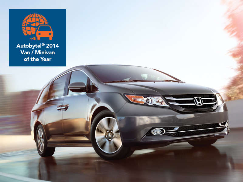 Autobytel 2014 Minivan of the Year: Honda Odyssey