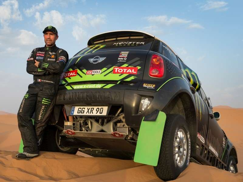 MINI Heads Out To Compete In The Dakar Rally