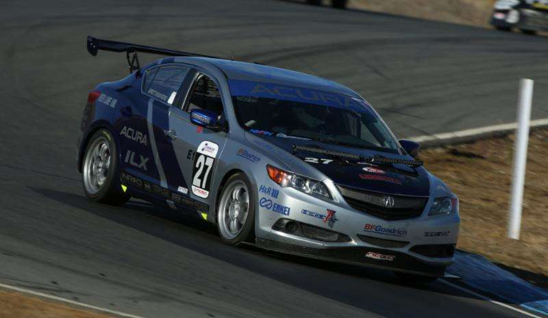 2014 Acura ILX Claims Class Victory at 25 Hours of Thunderhill