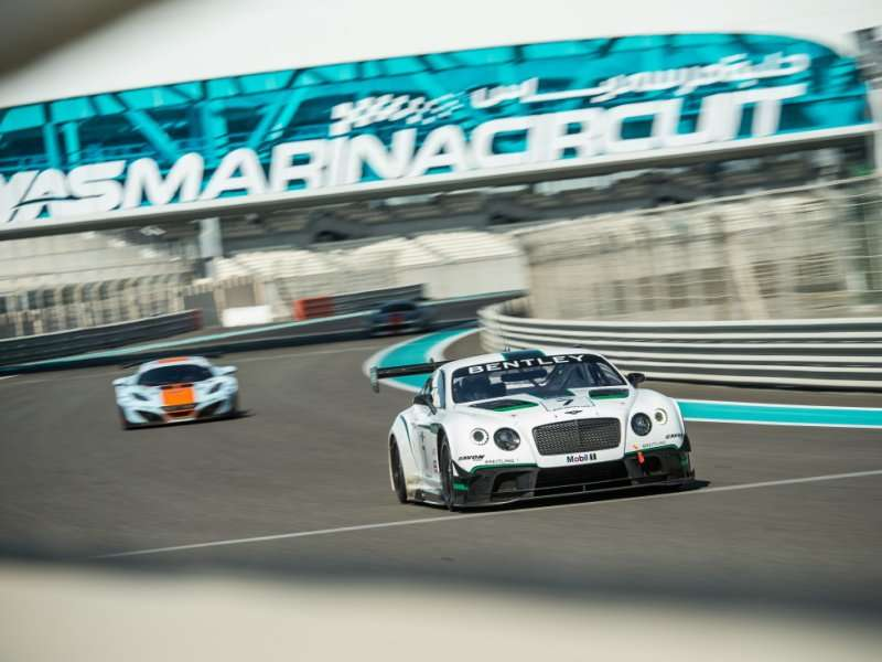 Bentley Continental GT3 Racecar Has An Impressive Start