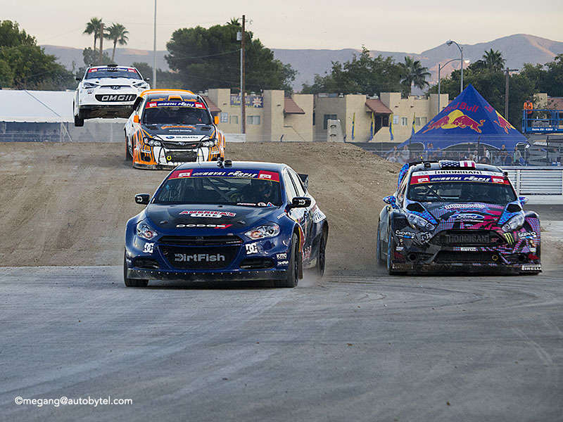 Global Rallycross 2013 Vegas Finale In Photos