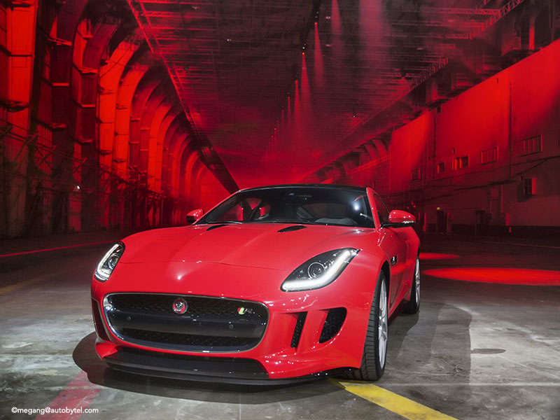 The Jaguar F-TYPE Coupe in Photos