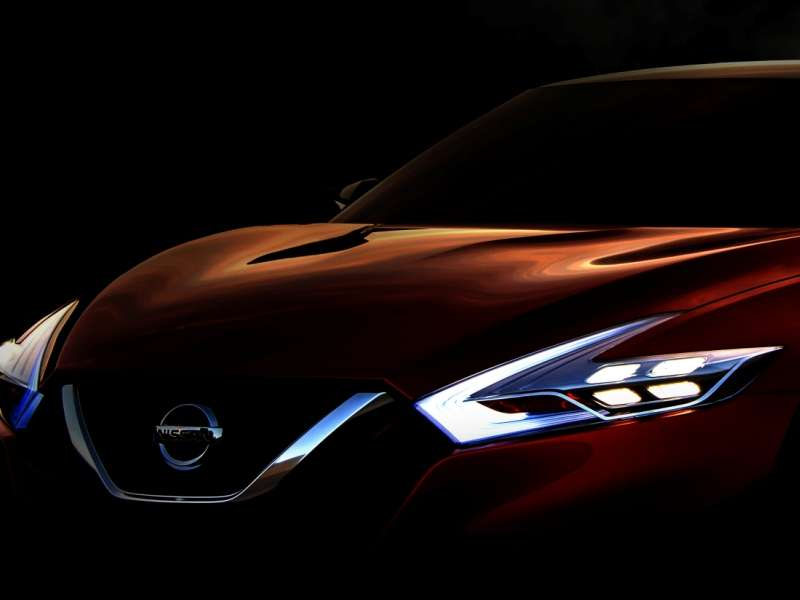 New Concept to Preview Next-gen Nissan Maxima