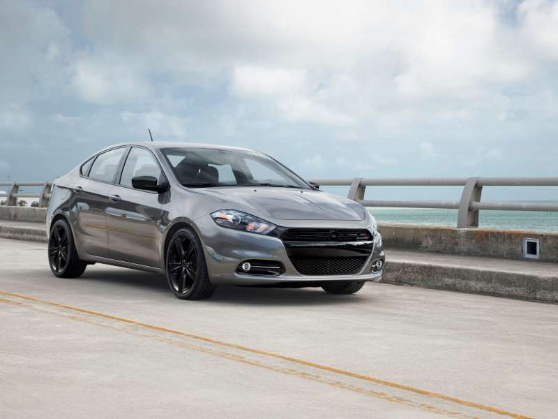 2014 Dodge Dart Blacktop Edition Coming to NAIAS
