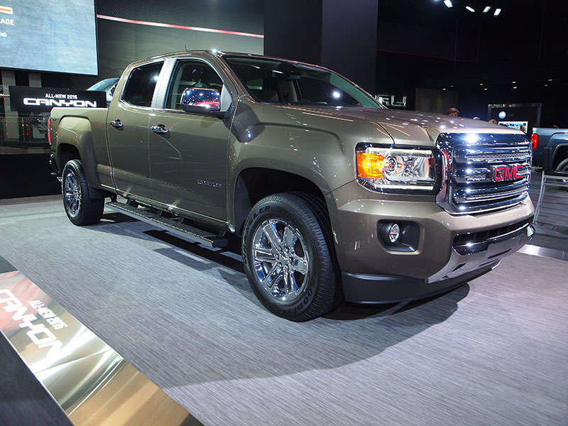 2015 GMC Canyon Boasts Best-in-Class Payload