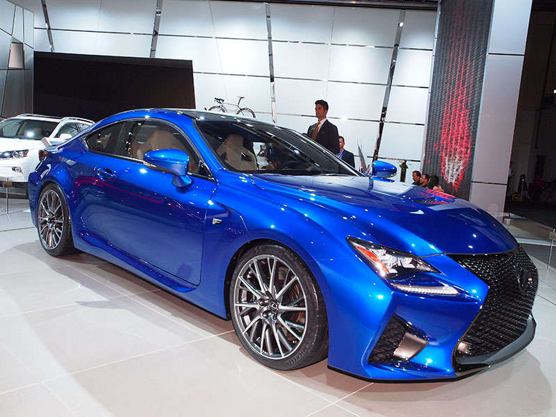 2015 Lexus RC F Coupe Preview: 2014 Detroit Auto Show