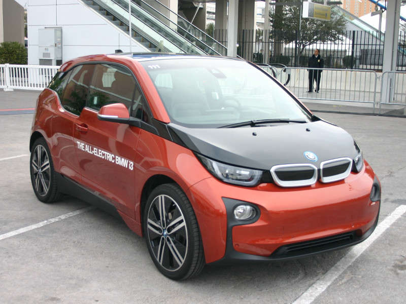 2014 BMW i3: 2014 International CES