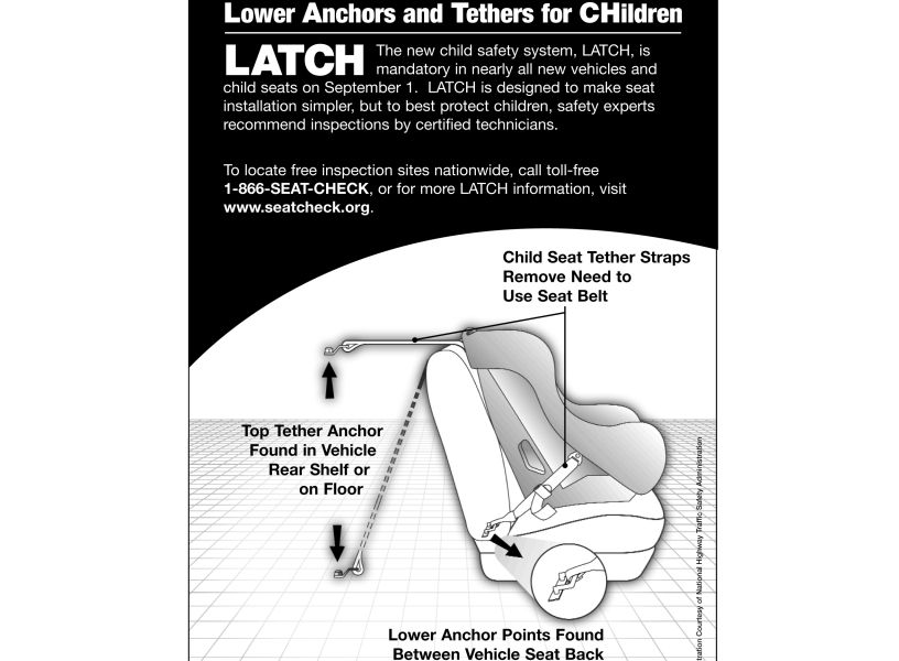 2014 latch car seat law changes what you need to know. Black Bedroom Furniture Sets. Home Design Ideas