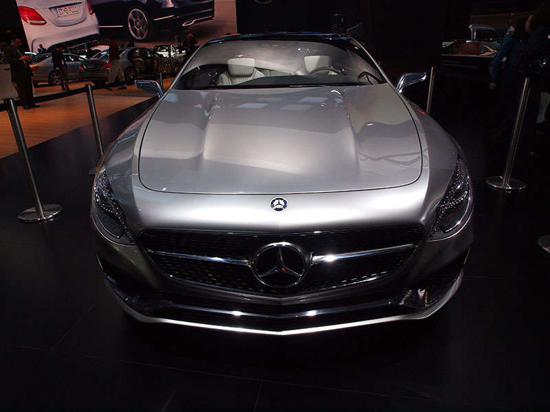 Mercedes-Benz S-Class Coupe Concept Preview: 2014 Detroit Auto Show