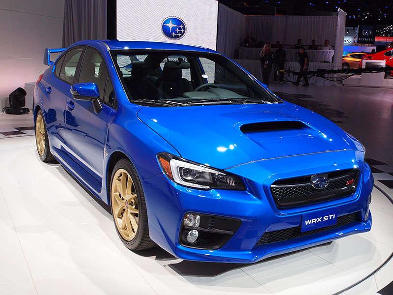 2015 Subaru WRX STI Preview: 2014 Detroit Auto Show
