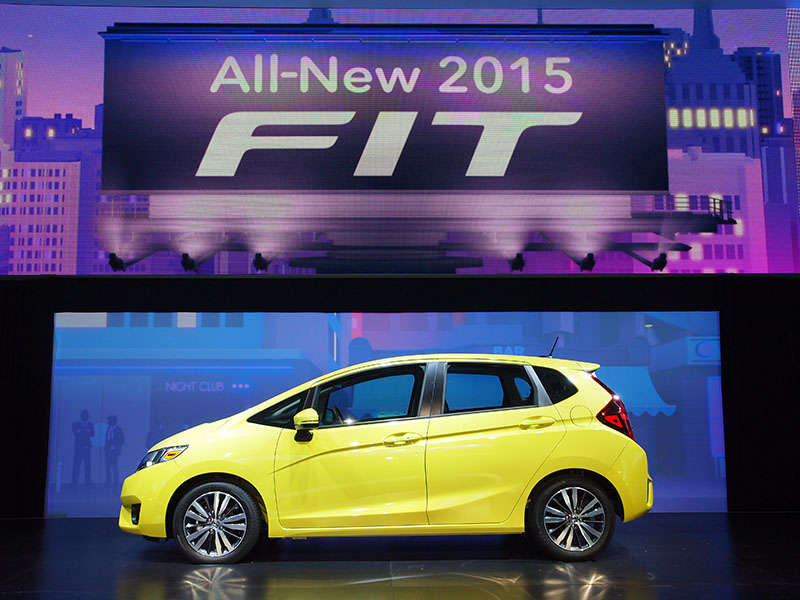 2015 Honda Fit Preview: 2014 Detroit Auto Show