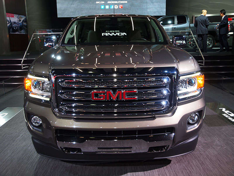 2015 GMC Canyon Preview: Detroit Auto Show