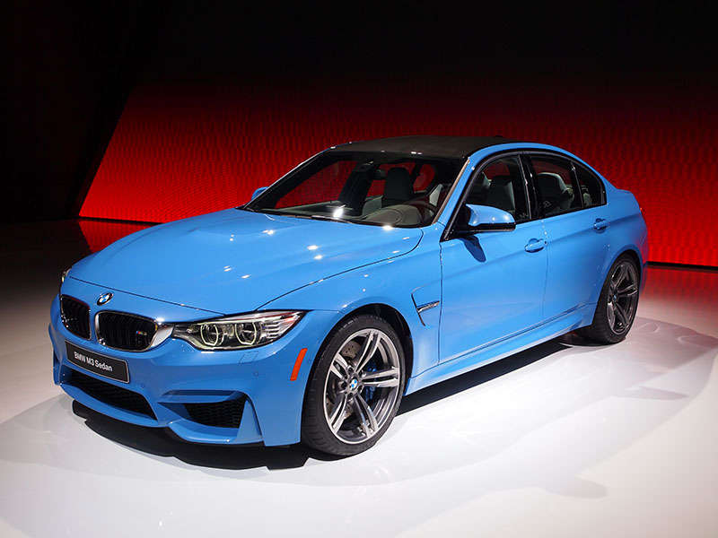 2015 BMW M3 / 2015 BMW M4 Preview - 2014 Detroit Auto Show