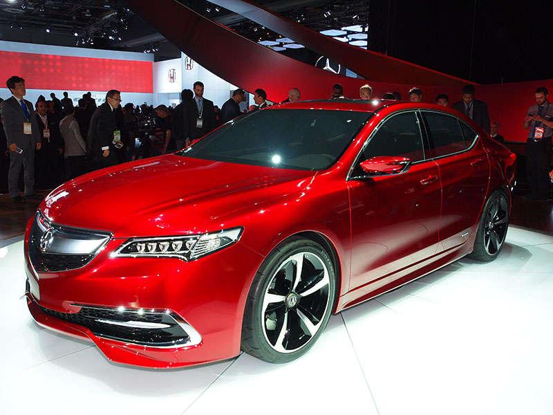 2015 Acura TLX Prototype Preview: Detroit Auto Show
