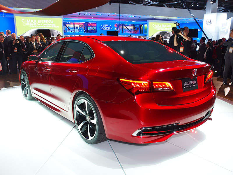 2015 acura tlx prototype preview detroit auto show. Black Bedroom Furniture Sets. Home Design Ideas