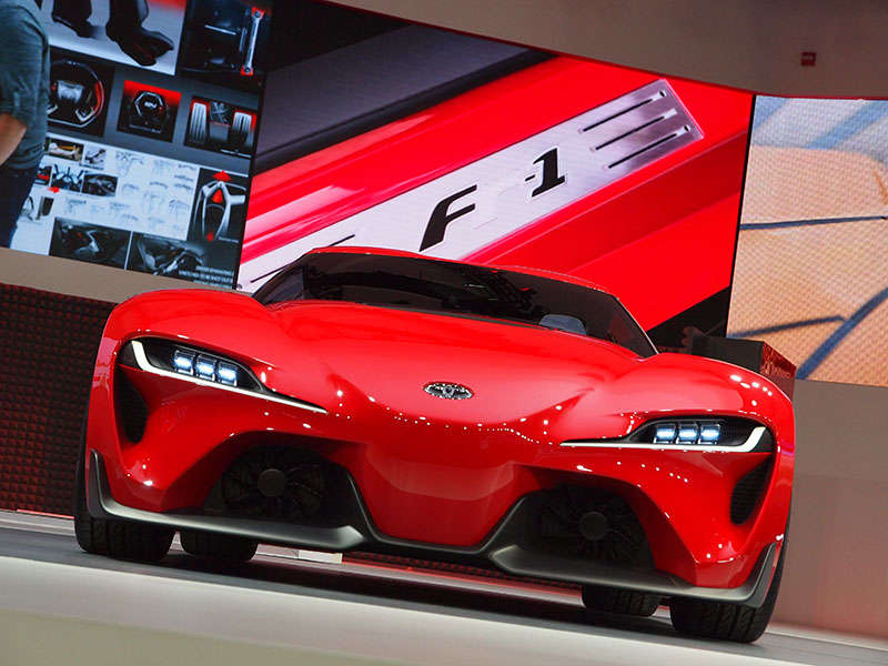 Toyota FT-1 Concept Preview: 2014 Detroit Auto Show
