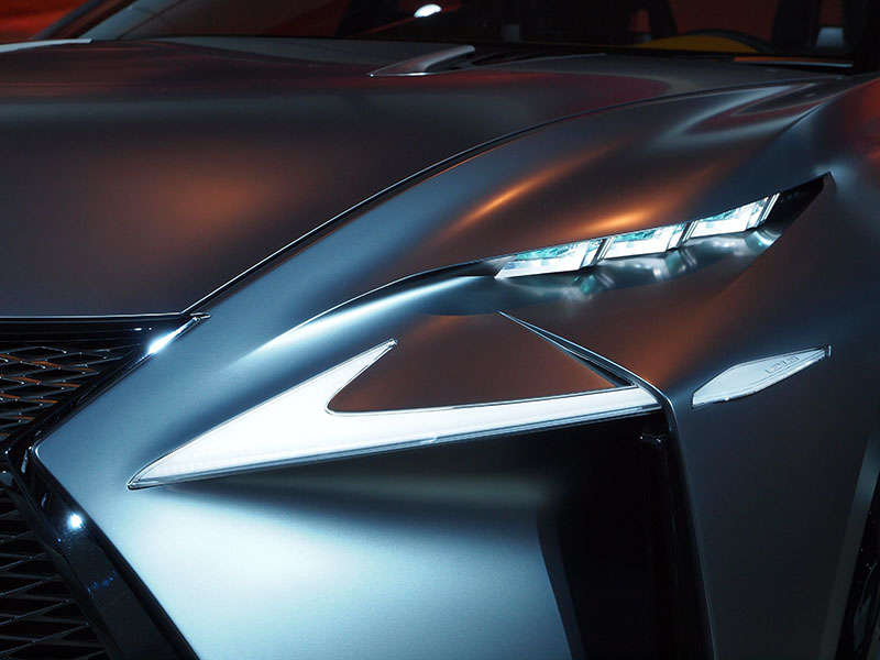 Lexus LF-NX Turbo Concept Preview: 2014 Detroit Auto Show