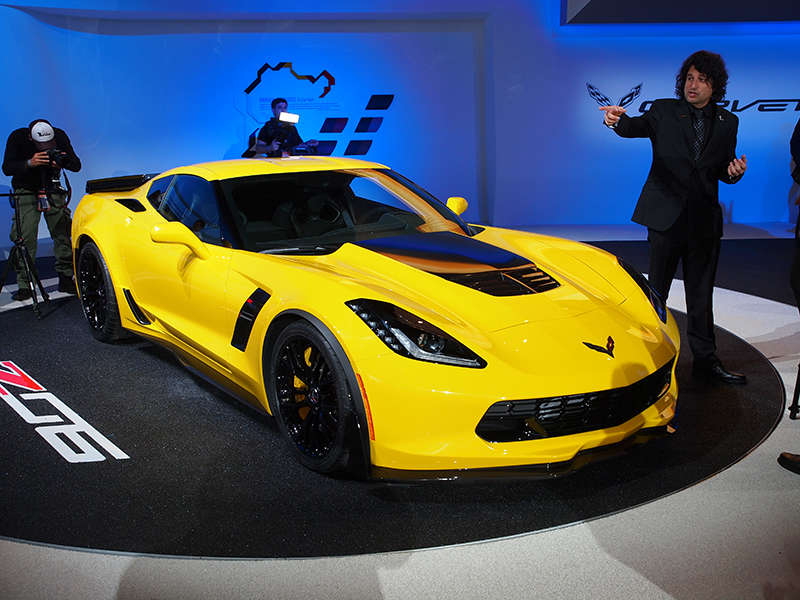 Autoweek: 2015 Chevy Corvette Z06 Named Best in Show at NAIAS