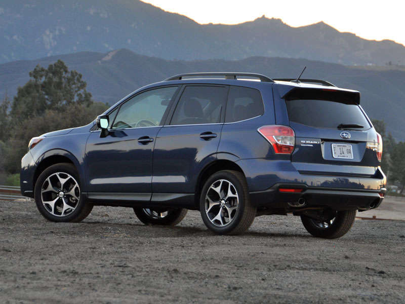 Subaru forester xt test