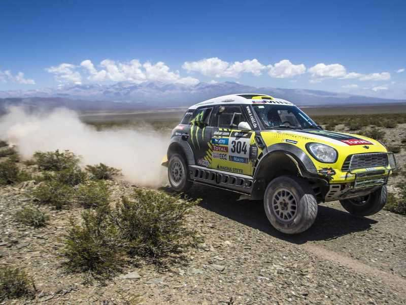 MINI Takes Top Three Places in Dakar Rally