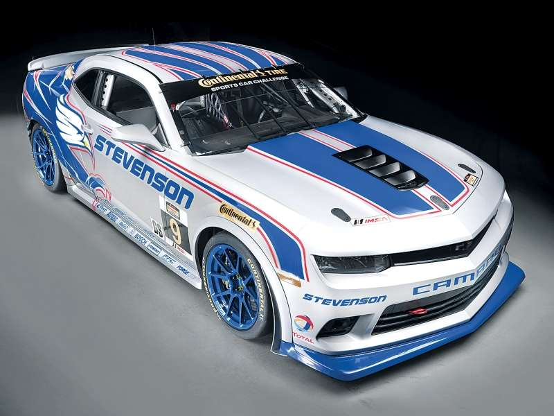 2014 Chevy Camaro Z/28 Gets Ready to Race