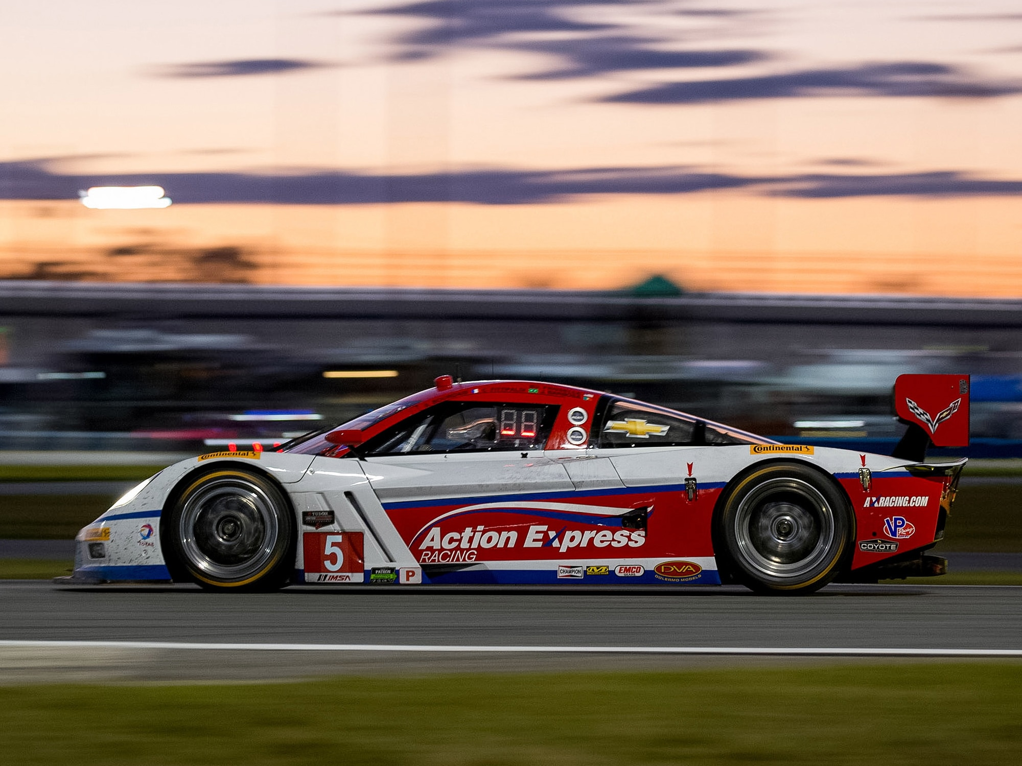 Chevy Corvette Captures First Four Places in Rolex 24 Endurance Classic