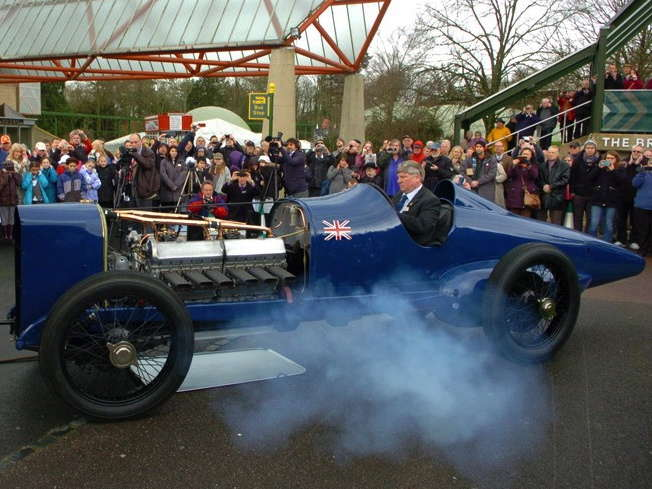 1920s Blue Bird Land Speed Racer Sings Again