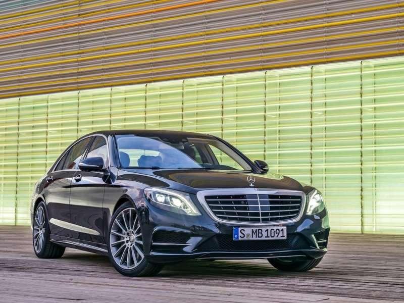 2015 Mercedes-Benz S-Class Debuts New S600 Range-topper