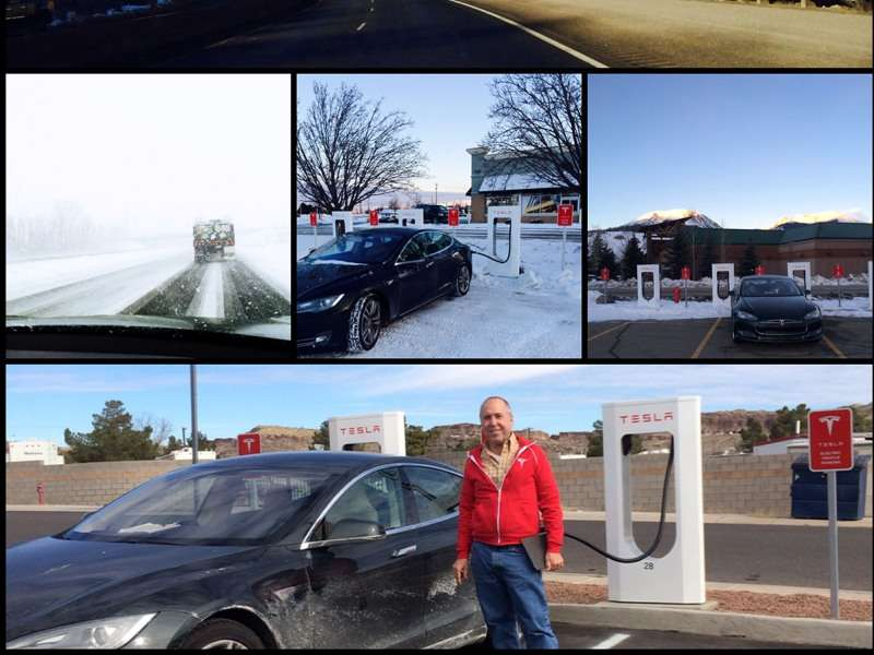 Superchargers Send First Tesla Model S Across the Country