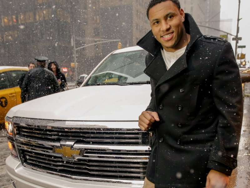 Super Bowl MVP Smith Scores 2014 Chevy Silverado High Country